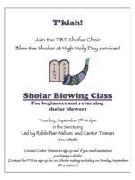 Join the TBE Shofar Choir color 19