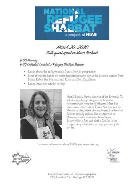 National Refugee Shabbat flyer 2020 (1)c