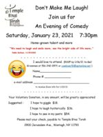 Comedy Night 1-23-21 flyer revised c