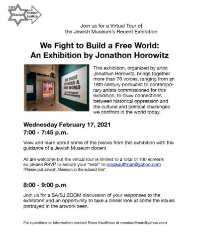 Jewish Museum Exhibition Flyer.pages for Voice - Rona Wasserman_1