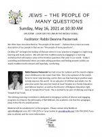 Rabbi P Jews People of Questions flyer 3.25.21_1