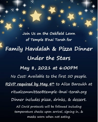TBT havdalah under the stars_1