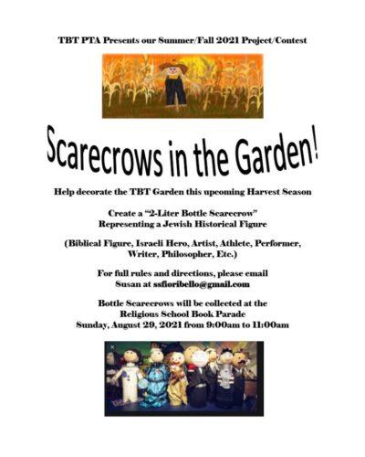 Scarecrows in the Garden Flyer - One Page - Laurel Klein_1