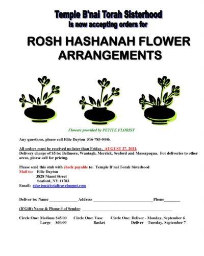 TBT ROSH HASHANAH 2021 - SH
